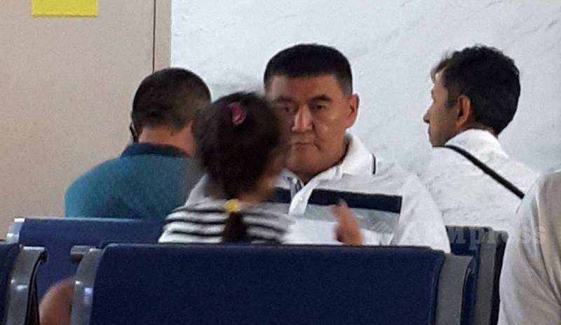 Ташиев разминулся с Бабановым в аэропорту. Фото