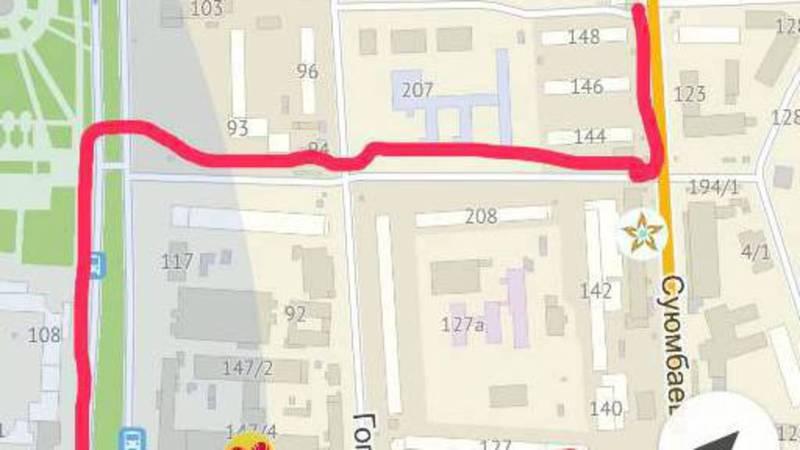 Водители маршрутки №135 постоянно отклоняются от маршрута (фото)