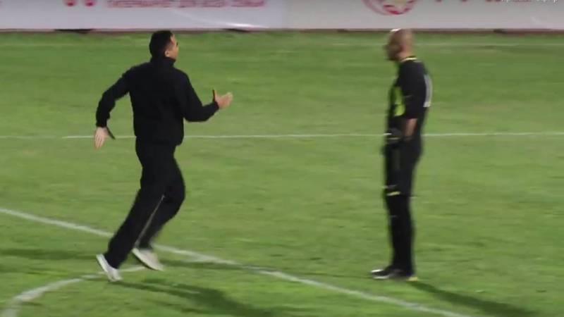 Видео — Болельщик выбежал на поле после 7-го гола сборной Кыргызстана в ворота соперника