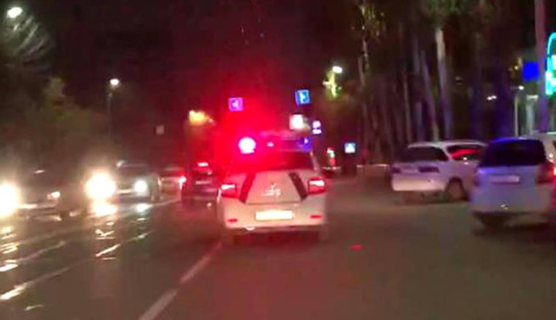 Водители жалуются на проблесковые маячки на машинах патрульной милиции