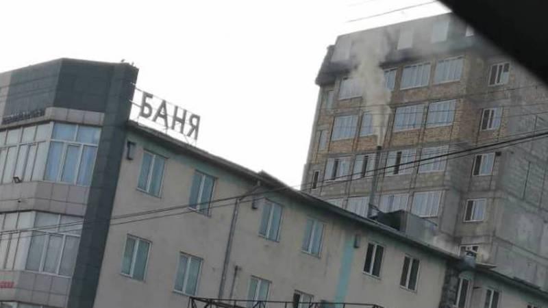 Из трубы бани в жилмассиве Кок-Жар каждый день идет густой дым, - бишкекчанин (фото)