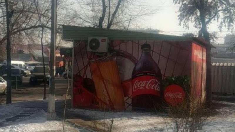 Законно ли установлены павильоны на улице Суюмбаева?