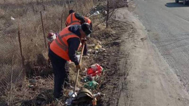 На Валиханова-Исакеева повторно уберут мусор, - мэрия