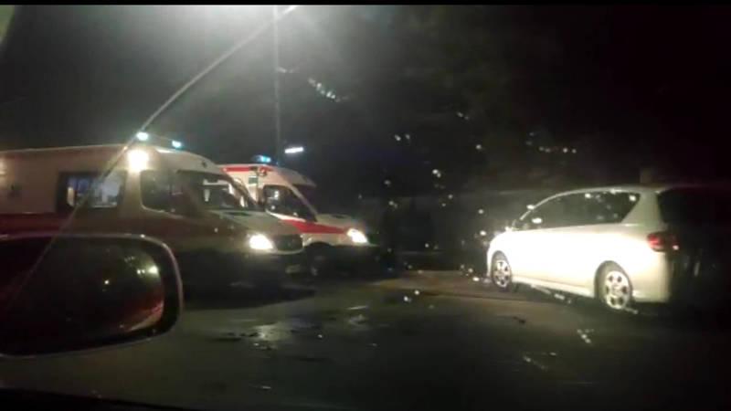 На улице Льва Толстого произошло ДТП. Видео