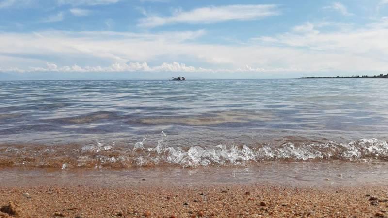 Фоторепортаж - Лето, жара, Иссык-Куль