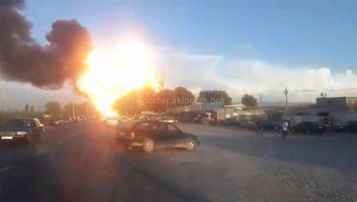 Новые <b>видео</b> момента взрыва на АЗС в Баткене