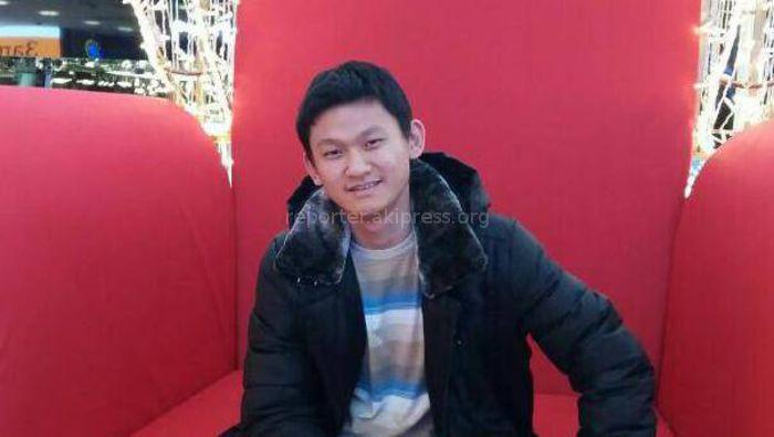 В Бишкеке без вести пропал 22-летний казахстанец Ким Кирилл Ен-Бокович