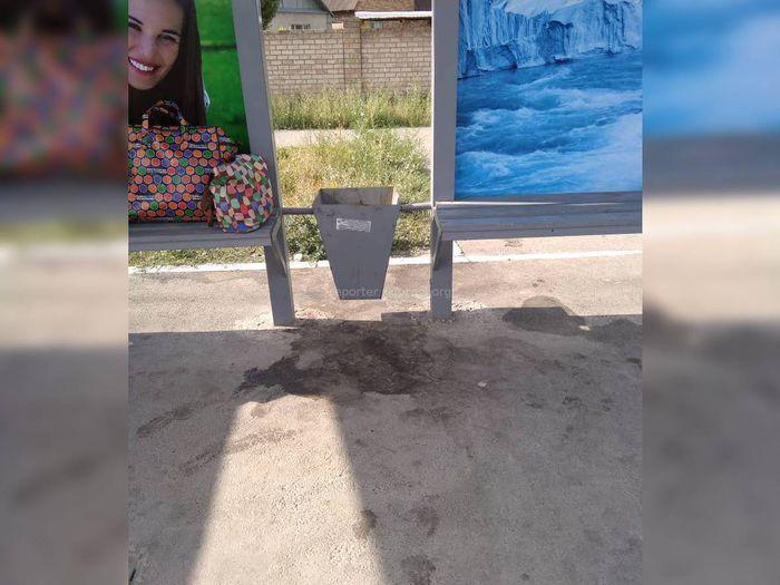 На ул.Лущихина мусор вывозится подворовым методо. Мэрия просит не оставлять мусор на остановках