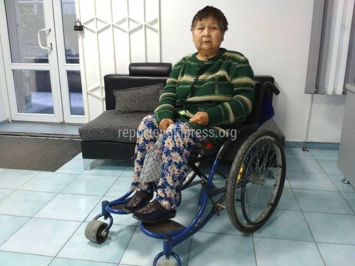 У 60-летней Умут Абдыкеримовой онкология и ревматоидный артрит