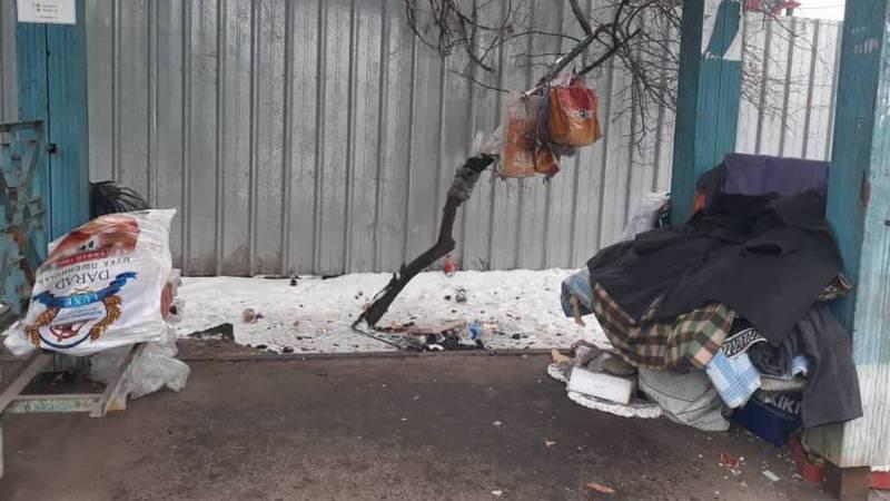 В Бишкеке на ул.Интергельпо конечная троллейбусов №2 и №10 в плохом состоянии - житель столицы (фото)
