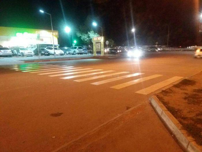«Бишкекасфальтсервис» исправит замечание читателя о пешеходном переходе, упирающегося в бордюр