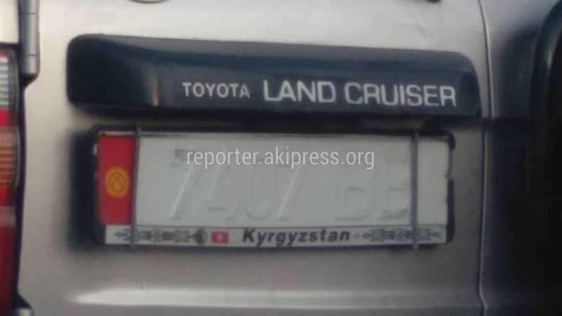 Бишкекские водители начали скрывать свои номера на авто, - горожанин (фото)
