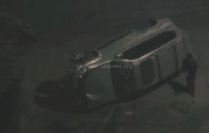 В Оше ночью перевернулся Lexus GX470, водитель и пассажиры не пострадали <i>(видео)</i>
