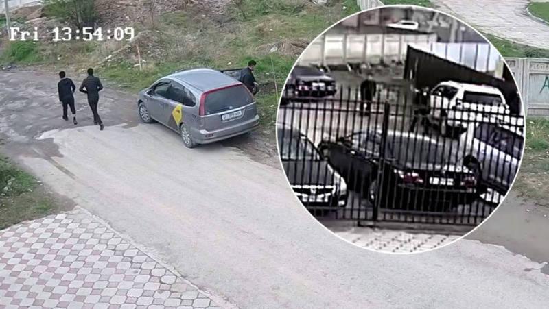 Во время жума-намаза в Джале из машины украли $20 тыс. и 400 тыс. сомов. Милиция задержала подозреваемого