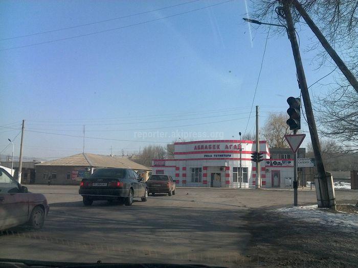 Читатель жалуется на неработающий светофор на Ибраимова-Сансызбаева в Токмоке