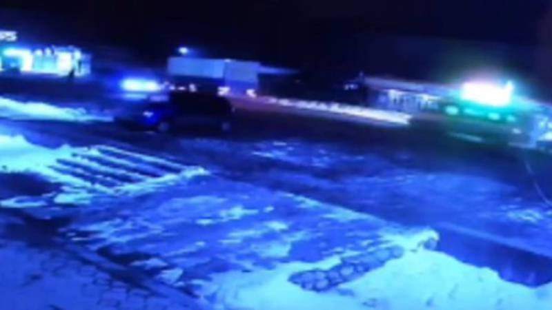 В Александровке водитель в нетрезвом состоянии насмерть сбил пешехода. Видео