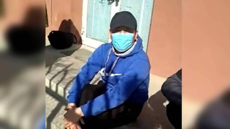 Водитель-дальнобойщик, который остался в Китае, вернулся в Кыргызстан. Он находится на карантине