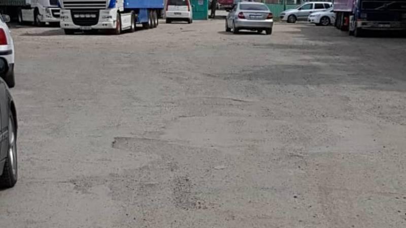 Горожанин жалуется на состояние ул.Месароша. Фото