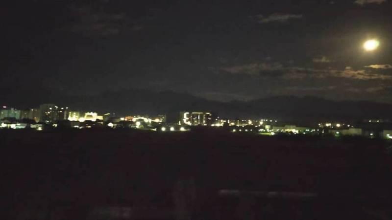 Фото ночного Бишкека в объективе горожанина