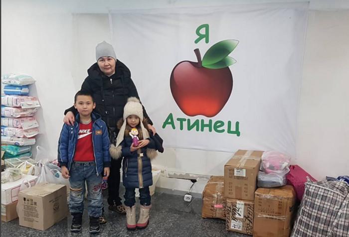 Маленькие алматинцы разбили свои копилки и отдали деньги в помощь пострадавшим в результате авиакатастрофы под Бишкеком <i>(фото)</i>