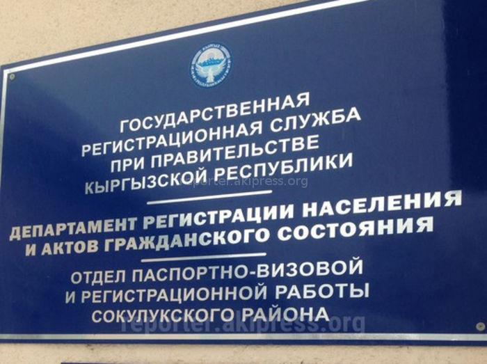 Читатель заявил о факте оплаты за бланк «на руки» сотруднику Сокулукского ЗАГС <i>(видео)</i>