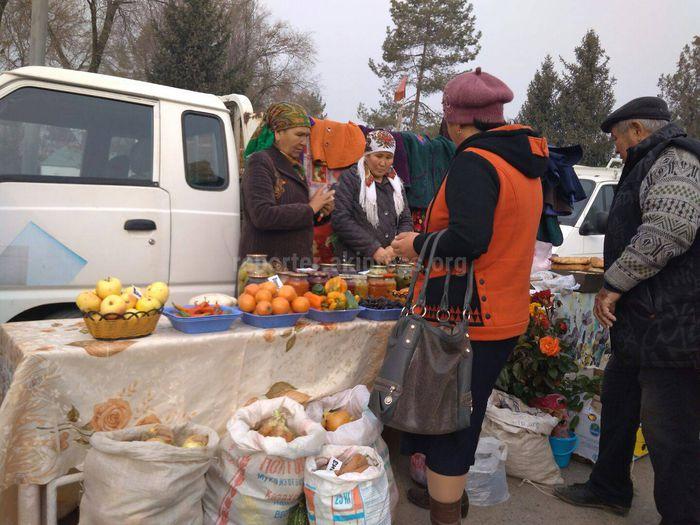 В городе Кербен проходит праздник урожая (фото)