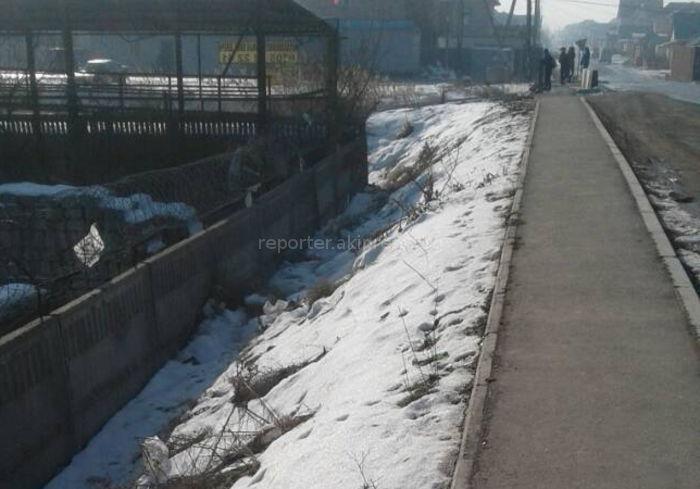 «Бишкекасфальтсервис» рассмотрит возможность установки ограждения на мосту на Анкара-Виноградной