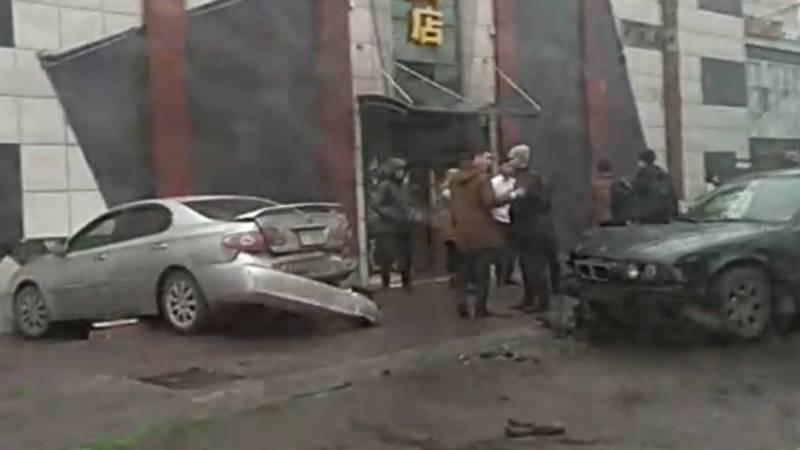 На улице Горького произошло ДТП. Видео, фото