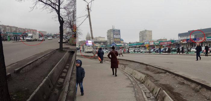 В зоне действия знака «Остановка запрещена» на Ортосайском рынке постоянно стоит автомобиль, - житель (фото)