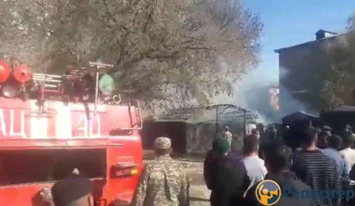 В кафе «Бермет» в Таласе произошел взрыв <i>(видео)</i>