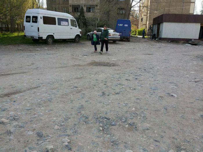 Бишкек тургуну 12 кичирайондогу №30 үйдүн жанындагы жолго тротуар жасоону суранат (сүрөт)