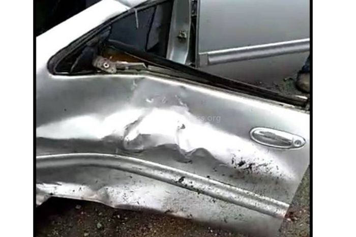 В селе Барскоон на Иссык-Куле столкнулись легковушка и маршрутка, есть пострадавшие <i>(видео)</i>