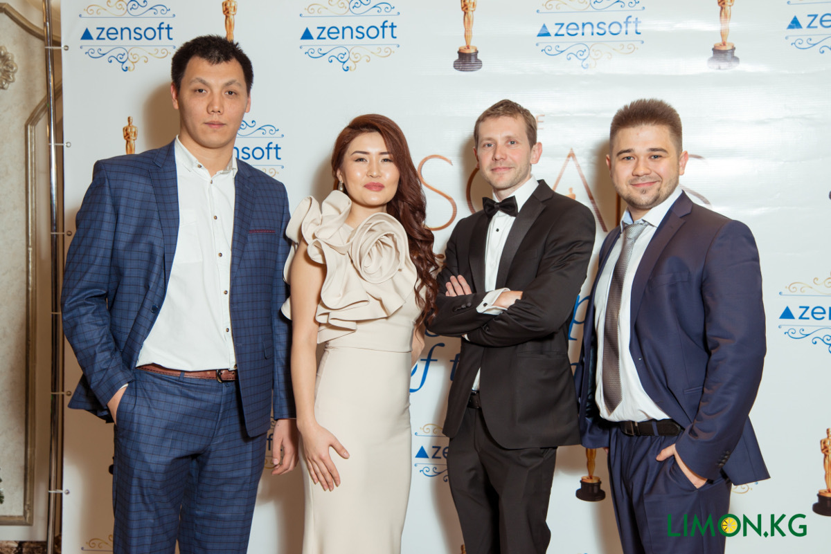 New year party with Zensoft Top management 2017