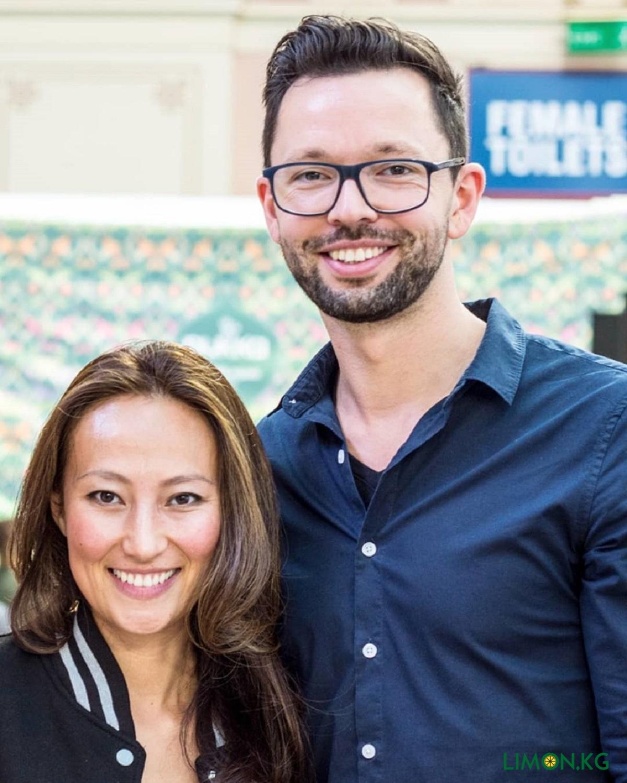 Элнура и Co-founder Rene