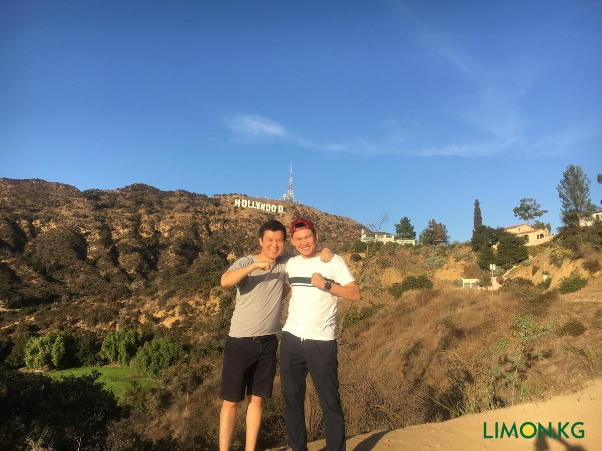 С братом в Лос-Анджелесе