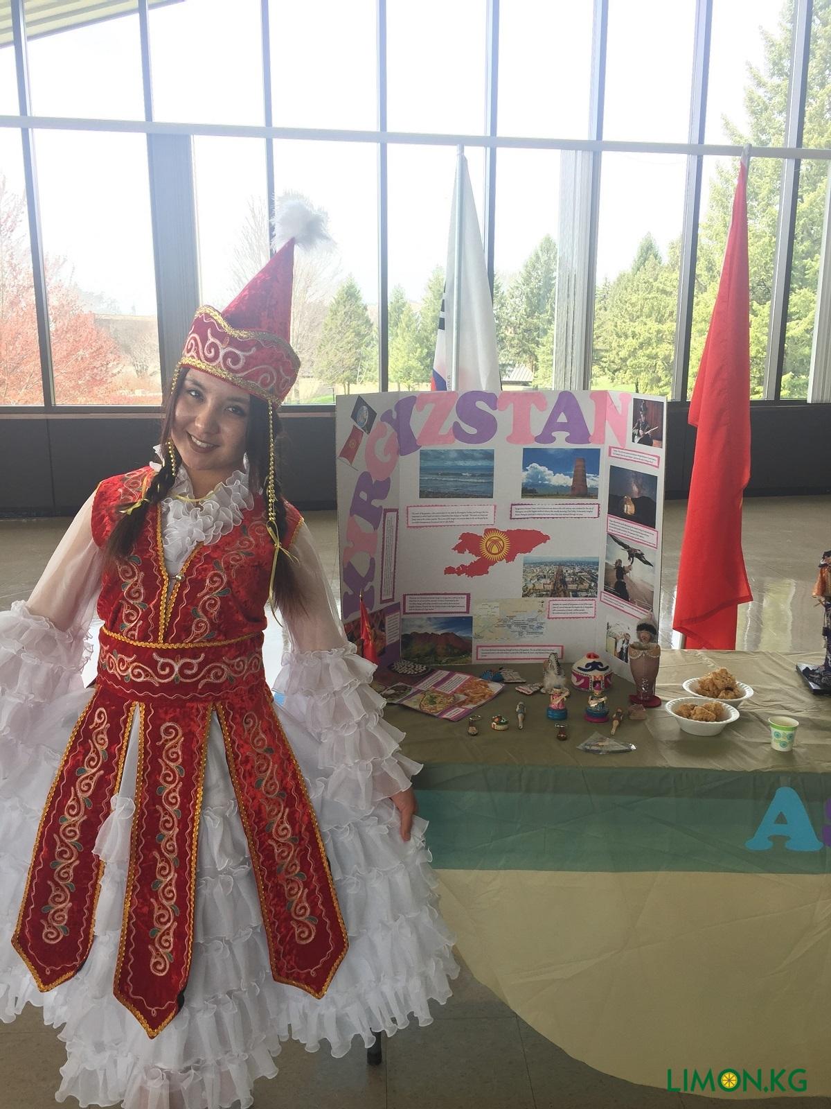Алтынай Презентация Кыргызстана в РУ (2017)