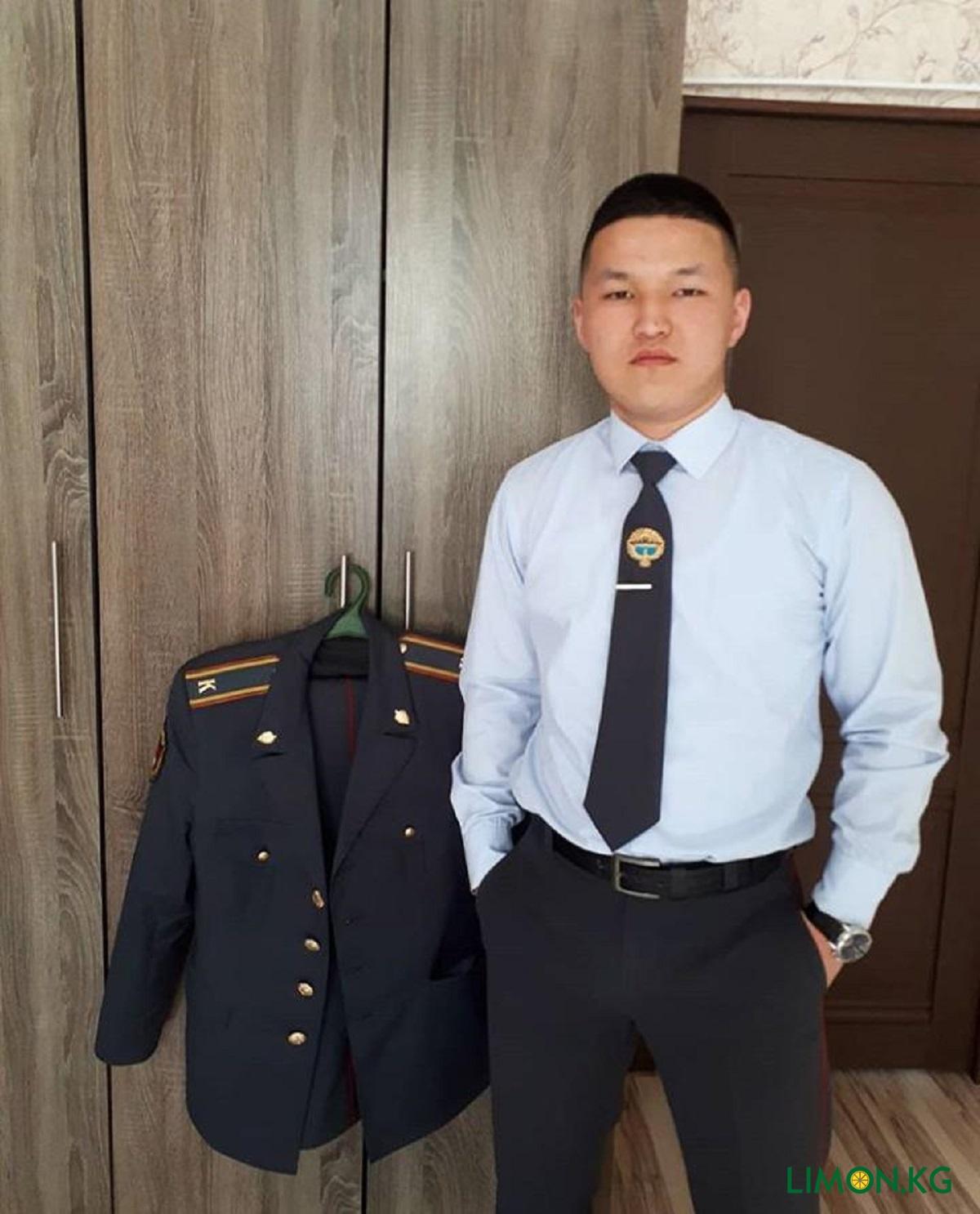 Эркебаев Султан рядовой милии