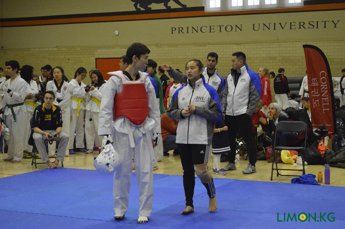 Princeton tournament Курманбек