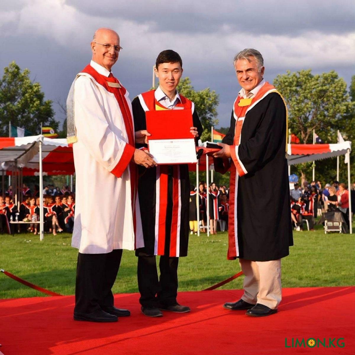 METU graduation Курманбек