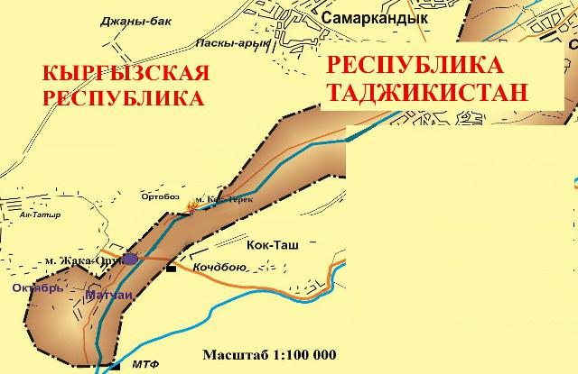 Село Кок-Таш Баткенского района
