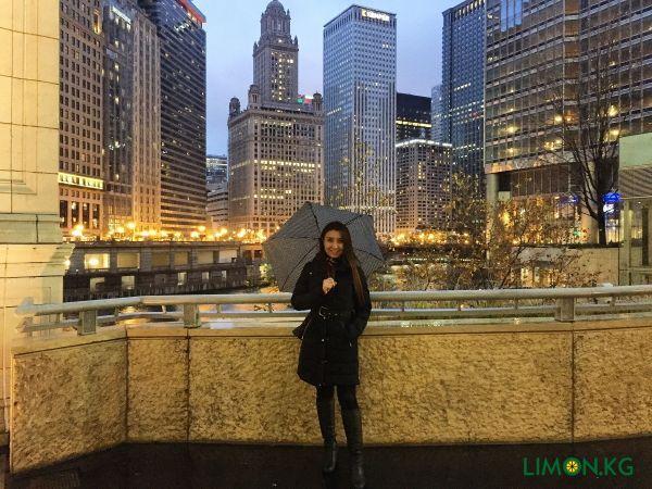 Алтынай Прогулка по Чикаго (Ноябрь 2019)
