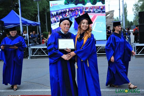 Алтынай Вручение диплома (Выпуск -2019)