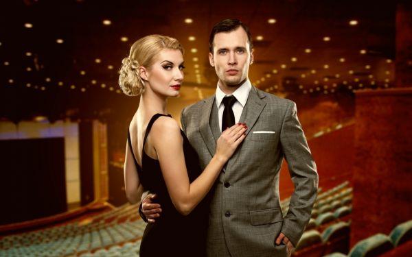 свидание в театре