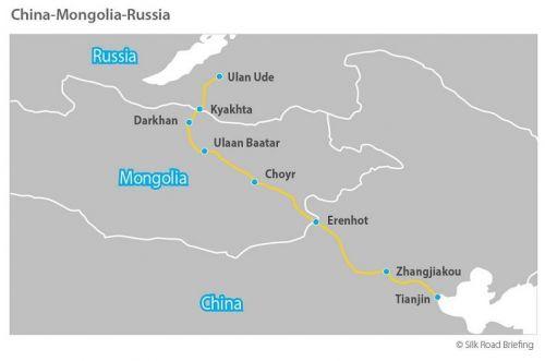 China-Mongolia-Russia-Road-Map