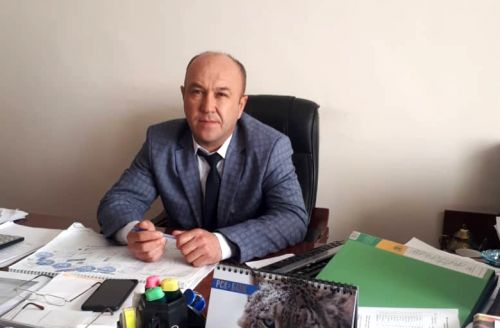 Мэр Рахман Атаджанов