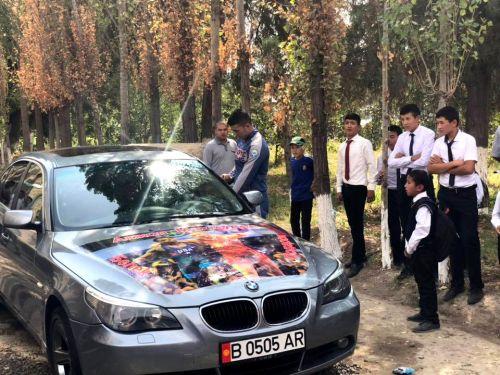 Автомобиль Акжолу Махмудову