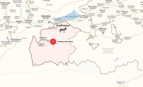 Село Борбордук Лейлекского района