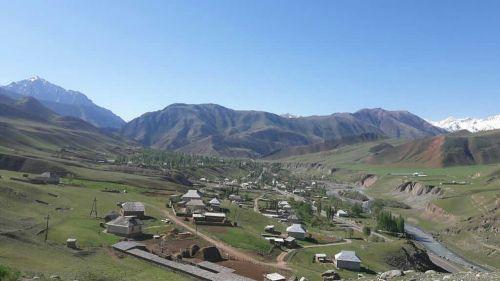 Кызыл-Коргон айылы