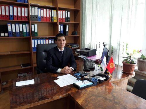 Куршаб айыл өкмөтүнүн башчысы  Алтынбек Ташиев