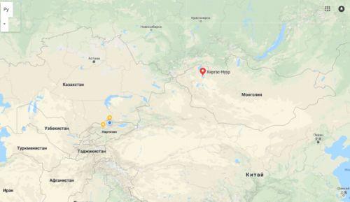 Кыргыз-Көл (карта)